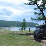 Лагуное озеро отделенное косой