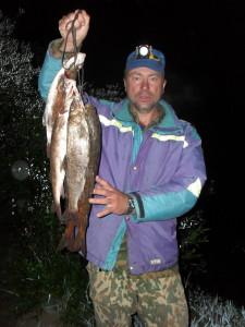 Мышовка - как результат ночной ловли на реке Холодная. мышовки