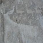 Наскальные рисунки на скале Саган-Заба