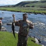Рыбалка на реке Их - Хоро гол. Север озера