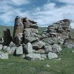 Останки древнего города.